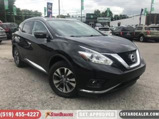 Used 2015 Nissan Murano SL | NAV | LEATHER | PANO ROOF | CAM for sale in London, ON