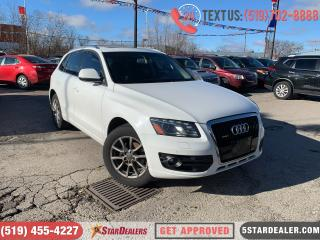 Used 2012 Audi Q5 3.2 Premium | NAV | LEATHER PANO ROOF | AWD for sale in London, ON