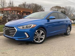 Used 2017 Hyundai Elantra GLS-HEATED STEERING WHEEL-HEATED SEATS-BACK UP for sale in Mississauga, ON