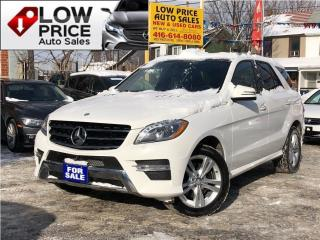 Used 2015 Mercedes-Benz ML-Class Diesel*Panoramic*Navi*Xenon*Camera*FullOpti* for sale in Toronto, ON