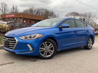 Used 2017 Hyundai Elantra GL-BLIND SPOT-HEATED STEERING-HEATED SEATS-BACKUP for sale in Mississauga, ON