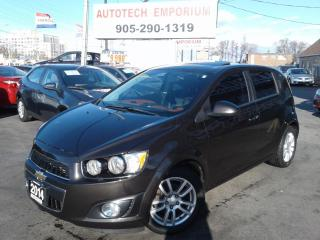 Used 2014 Chevrolet Sonic LT Auto Camera/Sunroof/Htd Seats &GPS for sale in Mississauga, ON
