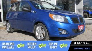 Used 2009 Pontiac G3 Wave SE ** No Accidents, One Owner, Sunroof ** for sale in Bowmanville, ON