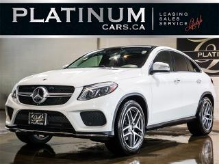 Used 2016 Mercedes-Benz GLE350 d COUPE, AMG SPORT, NAVI, Driver Assist for sale in Toronto, ON
