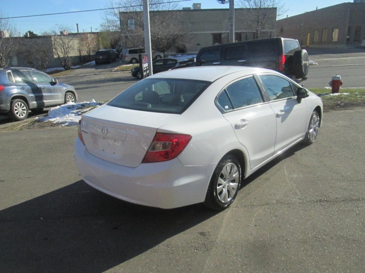 2012 Honda Civic LX   KEYLESS ENTRY   CRUISE   BLUETOOTH   HEATED SEATS