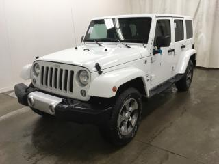 Used 2018 Jeep Wrangler Sahara 4x4|ACCIDENT FREE|NAVI|AUTO|FINANCING AVAILABLE for sale in Mississauga, ON