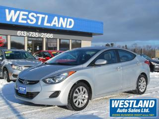 Used 2013 Hyundai Elantra GLS for sale in Pembroke, ON