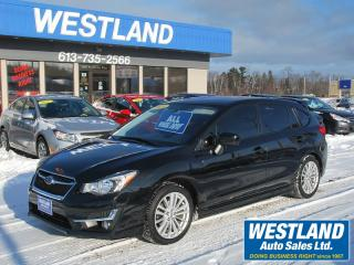 Used 2015 Subaru Impreza PZE AWD for sale in Pembroke, ON