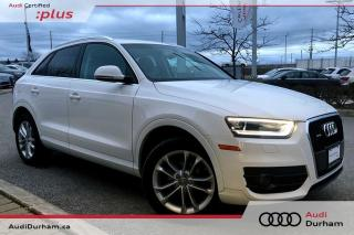 Used 2015 Audi Q3 2.0T Technik + AWD | Rear Cam | Blind Spot for sale in Whitby, ON