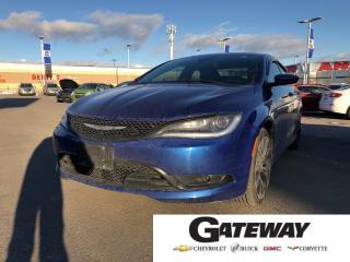 Used 2015 Chrysler 200 S S|Nav|Backup Cam|Upgrade Speaker|Dual Sunroof| for sale in Brampton, ON