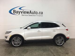 Used 2015 Lincoln MKC - PANOROOF! NAV! REVERSE CAM! SYNC! PWR LIFTGATE! for sale in Belleville, ON