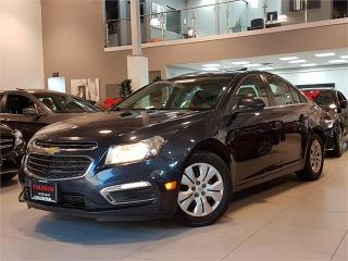 Used 2015 Chevrolet Cruze LT-AUTO-SUNROOF-BACK UP CAMERA-BLUETOOTH-ONLY 92KM for sale in Toronto, ON