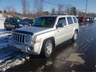 Used 2010 Jeep Patriot 4x4 146k Safetied Sport for sale in Madoc, ON