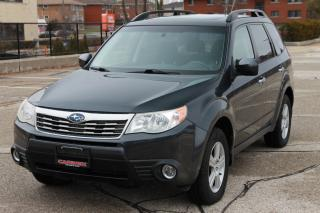 Used 2010 Subaru Forester 2.5 X Touring Package AWD  | Heated Seats | Sunroof | CERTIFIED for sale in Waterloo, ON