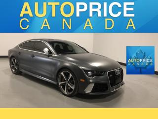 Used 2016 Audi RS 7 4.0T performance NAVIGATION|REAR CAM|LEATHER for sale in Mississauga, ON