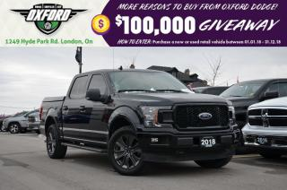 Used 2018 Ford F-150 XLT - Crew Cab, V6 Ecoboost, 1 Owner for sale in London, ON