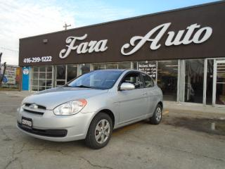 Used 2009 Hyundai Accent HB 2DOOR for sale in Scarborough, ON