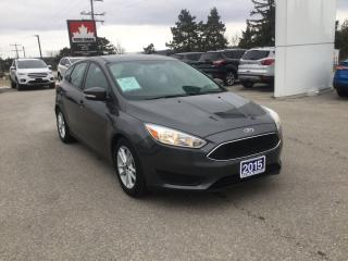 Used 2015 Ford Focus SE | Hatchback | One Owner | Winter Tires & Rims for sale in Harriston, ON