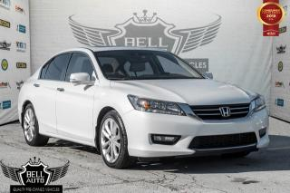 Used 2014 Honda Accord Sedan Touring BACK-UP CAMERA, NAVIGATION SYSTEM, POWER MOONROOF for sale in Toronto, ON