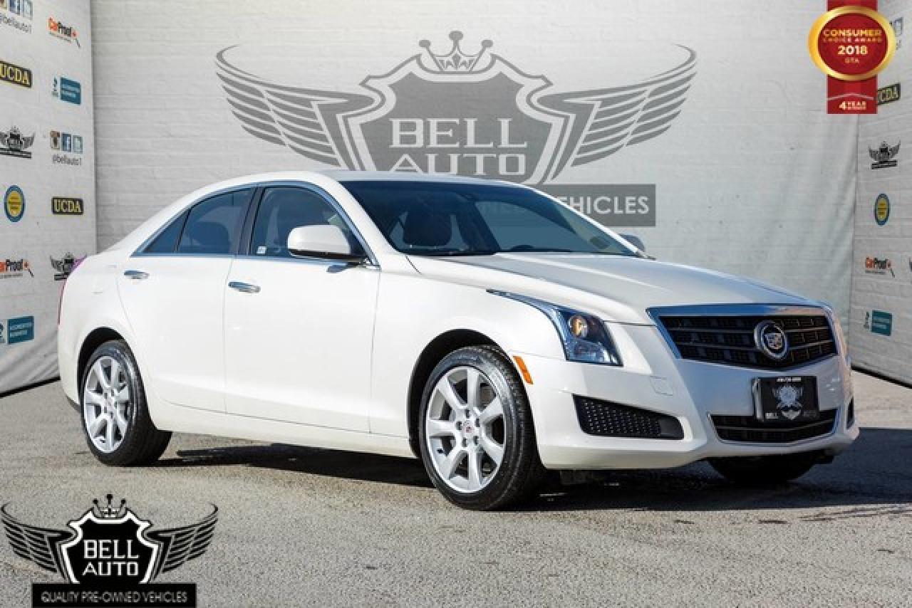 2014 Cadillac ATS 4 AWD LEATHER SUNROOF ALLOY WHEELS