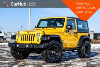 Used 2015 Jeep Wrangler Sport|4x4|Hard Top|Temperature Compass Gauge for sale in Bolton, ON