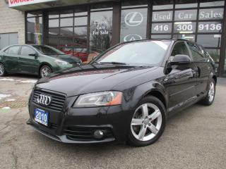 Used 2010 Audi A3 2.0T Premium-S-LINE-AWD-LTHER-PANO-ROOF-HEATED for sale in Scarborough, ON