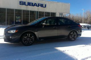 Used 2016 Subaru WRX w/Sport-tech Pkg for sale in Minden, ON
