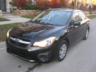 Used 2012 Subaru Impreza AWD, 5SP MANUAL, NO ACCIDENTS, CERTIFIED, A1 for sale in Toronto, ON