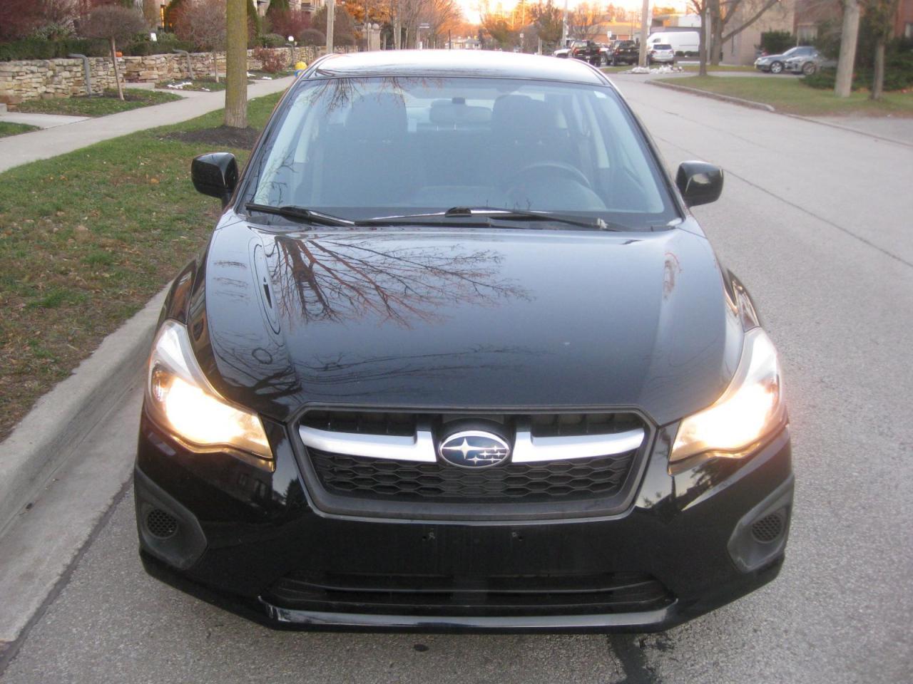 2012 Subaru Impreza AWD, 5SP MANUAL, NO ACCIDENTS, CERTIFIED, A1