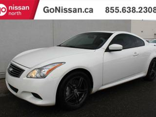 Used 2009 Infiniti G37 Coupe G37S SUNROOF LEATHER HEATED SEATS for sale in Edmonton, AB