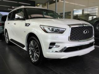 New 2019 Infiniti QX80 7 PASSENGER W/ PROACTIVE PACKAGE for sale in Edmonton, AB