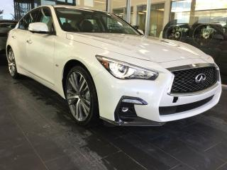 New 2019 Infiniti Q50 SPORT W/ PROACTIVE PACKAGE for sale in Edmonton, AB