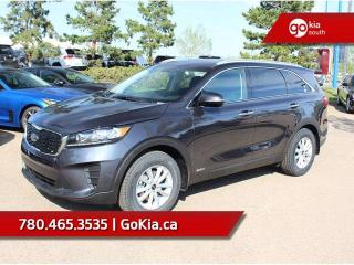 New 2019 Kia Sorento LX 2.4L AWD; PUSH START, HEATED SEATS/WHEEL, BACKUP CAMERA, BLUETOOTH, ANDROID AUTO/APPLE CAR PLAY for sale in Edmonton, AB