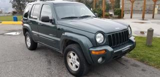 Used 2002 Jeep Liberty Limited 4WD for sale in West Kelowna, BC