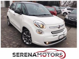 Used 2014 Fiat 500L EASY | MANUAL | BACK UP CAM | PANO. | NO ACCIDENTS for sale in Mississauga, ON