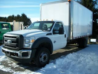 Used 2013 Ford F-550 XL 16' Van for sale in Stratford, ON
