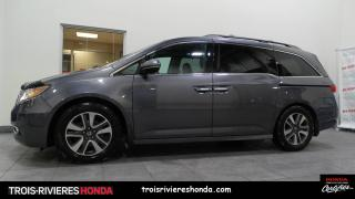 Used 2016 Honda Odyssey Touring for sale in Trois-Rivières, QC