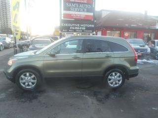 Used 2007 Honda CR-V EX-L / LEATHER / AWD / SUNROOF / REMOTE STARTER / for sale in Scarborough, ON