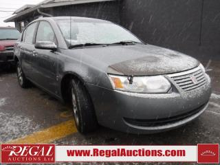Used 2005 Saturn Ion 4D Sedan for sale in Calgary, AB