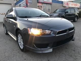 Used 2011 Mitsubishi Lancer ACCIDENT FREE_BACKUP CAMERA_BLUETOOTH for sale in Oakville, ON