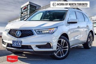 Used 2017 Acura MDX Tech Accident Free| DVD| Remote Start for sale in Thornhill, ON