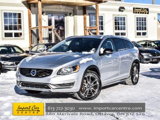 Used 2015 Volvo V60 Cross Country AWD T5 BK.CAMERA H.SEATS ROOF WOW!! for sale in Ottawa, ON