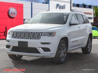 New 2019 Jeep Grand Cherokee Summit for sale in Mississauga, ON