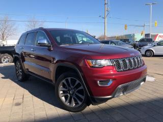Used 2018 Jeep Grand Cherokee LIMITED**POWER SUNROOF**NAVIGATION** for sale in Mississauga, ON