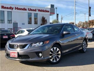 Used 2015 Honda Accord Coupe EX-L w/Navi for sale in Mississauga, ON