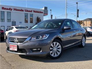 Used 2015 Honda Accord Sedan EX-L | Leather | Sunroof | Rear Camera for sale in Mississauga, ON