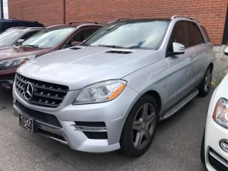 Used 2012 Mercedes-Benz ML 350 BlueTEC DIESEL, AWD, NAVI, PANO, CAMERA, BT for sale in Toronto, ON