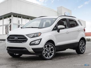New 2018 Ford EcoSport SES AWD for sale in Winnipeg, MB