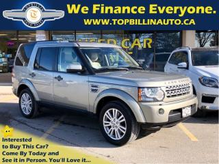Used 2011 Land Rover LR4 Navi, Dual Sunroof, Backup Camera, 7 Pass for sale in Vaughan, ON