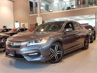Used 2016 Honda Accord Sedan SPORT-AUTO-CAMERA-SUNROOF-ONLY 60KM for sale in Toronto, ON